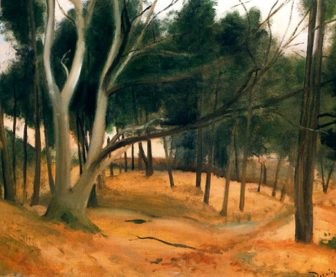 Andre Derain. Forest