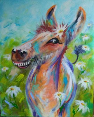 Nadezhda Anatolyevna Poleva. Donkey