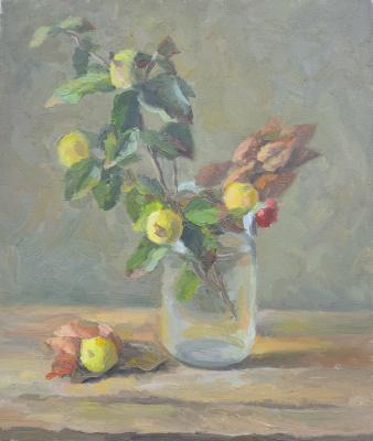 """Artur Petrovich Yatsenko. """"Autumn still life"""""""