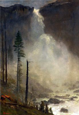 Альберт Бирштадт. Водопад Невада-Фолс