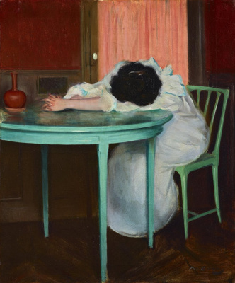 Ramon Casas i Carbó. Tired