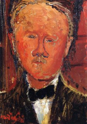 Amedeo Modigliani's. Portrait de Monsieur Chéron