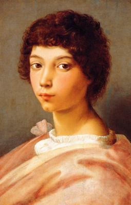 Raphael Santi. Portrait of a young man