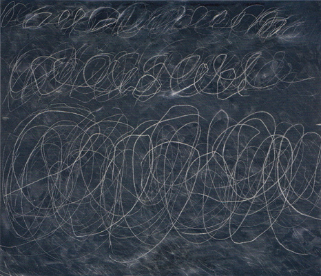 """Sai Twombly. Untitled (from the series """"blakboard"""")"""