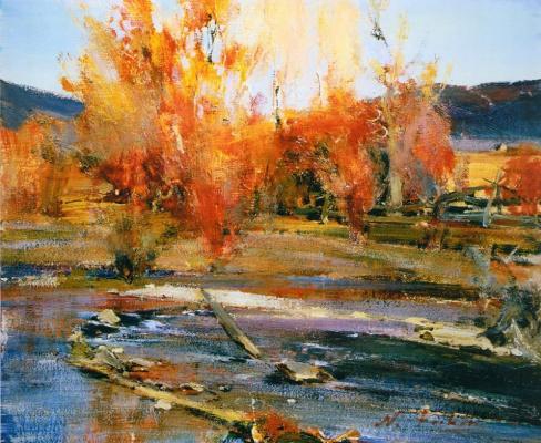 Nikolay Feshin. Landscape. New Mexico