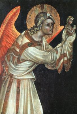 Гваренто ди Арпо. Ангел с крыльями