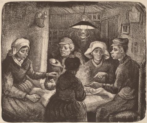Vincent van Gogh. The potato eaters