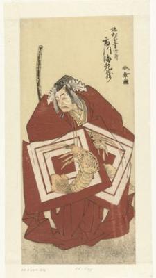 Katsukawa ни один Shunsho. Актер Итикава Данзо