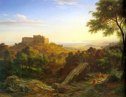 Ernst Fris. Landscape
