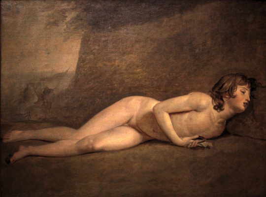 Jacques-Louis David. The death of young Joseph Bar