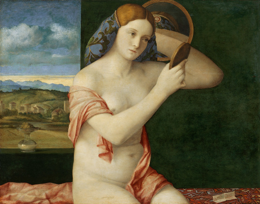 Джованни Беллини. Молодая женщина за туалетом