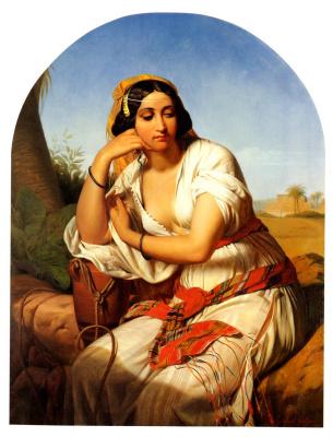 Годфрид Гуффенс. Женщина бедуина