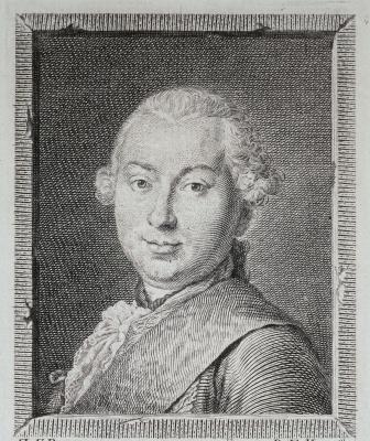Evgraf Petrovich Chemesov. Portrait of count Ivan Ivanovich Shuvalov