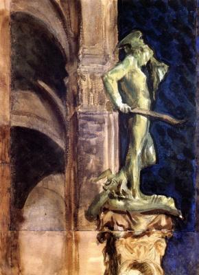 John Singer Sargent. Perseus by night