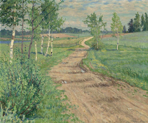 Nikolay Petrovich Bogdanov-Belsky. Rural road