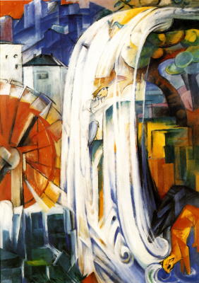 Franz Marc. The enchanted mill