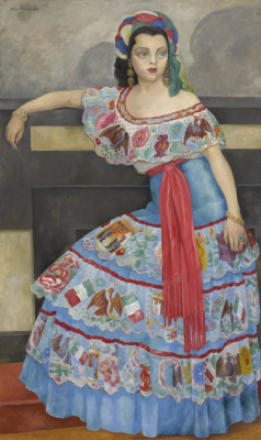 Diego Maria Rivera. Portrait of actress Matilda Palu