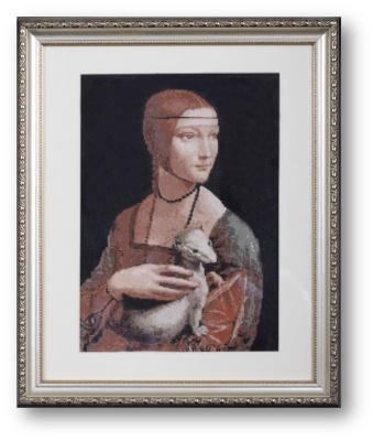 Tatyana Nikulina. Lady with an ermine