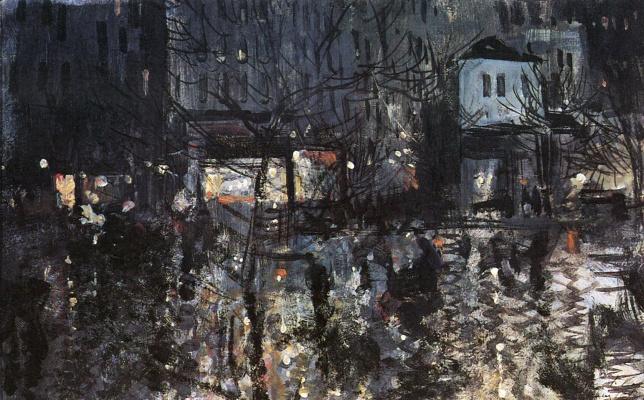 Konstantin Korovin. After the rain. Paris
