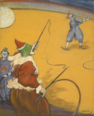 Луи Анкетен. В цирке. 1887