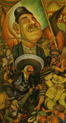 Диего Мария Ривера. Мексиканский карнавал