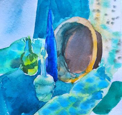 Maria Vladimirovna Kopylova. Blue still life