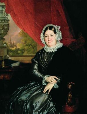Vasily Andreevich Tropinin. A Portrait Of Elizabeth Protasio