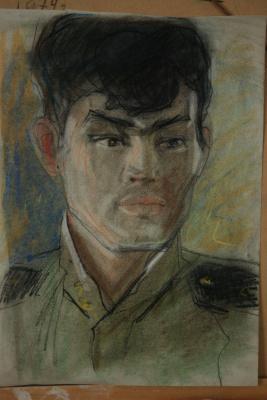 Николай Петрович Рябов. Военный