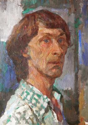 Валентин Александрович Шаврин. Автопортрет
