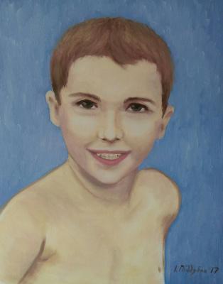 Irene Poddubnaya. Портрет мальчика
