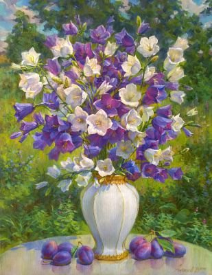 Victor Antipov. Bellflowers