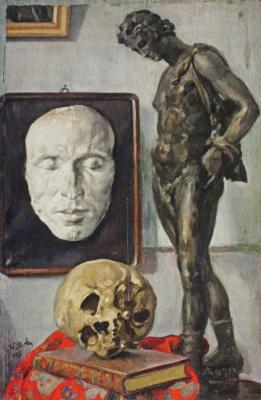 Николай Иванович Шестопалов. «В мастерской художника» 1930-е