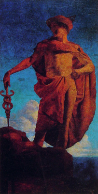 Maxfield Parrish. Hermes