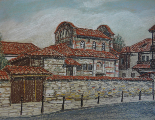 Irina Soboleva. The Church of St. Stefan in Nessebar