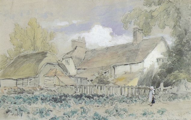 Winslow Homer. Farm house at Basildon, England