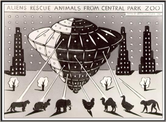 Ян ван Дален. Пришельцы спасают животных Центрального парка