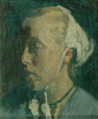 Осип Эммануилович (Иосиф) Браз. Голландка. Этюд. Около 1901