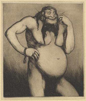 Василий Николаевич Масютин. Monster with a male head