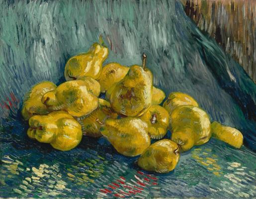 Винсент Ван Гог. Натюрморт с грушами