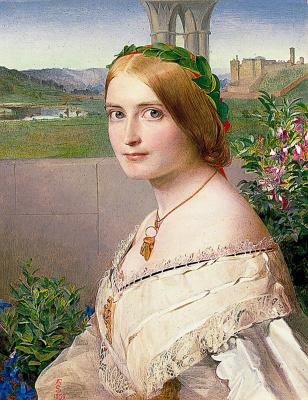 Anthony Frederick Augustus Sandys. Adelaide Mary, Mrs Philip Bedingfeld