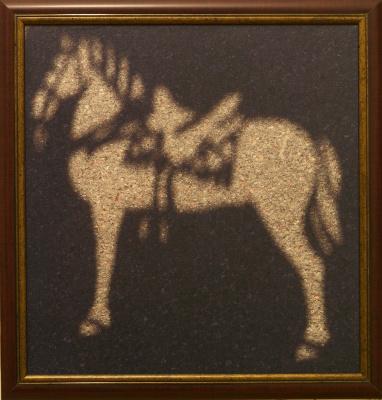 Asphalt horse