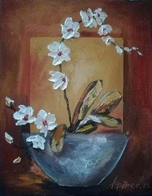 Olga Yuryevna Serebrova-Artes. Orchid