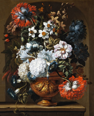 Gasper Peter Verbruggen Jr.. Flowers in a vase