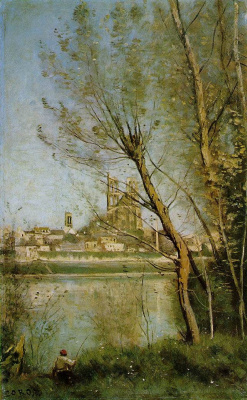 Camille Corot. Nantes Cathedral