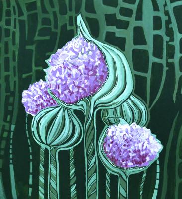 Иванна Шмелева. Allium