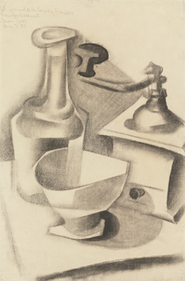 Juan Gris. Still life with coffee grinder