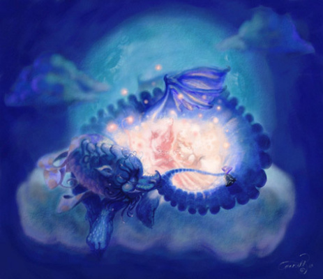 Аннет Лагамо. Дракон-бабочка