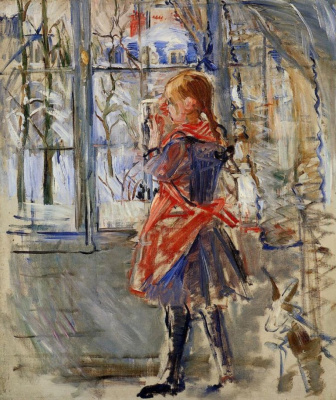 Berthe Morisot. Child in a red apron