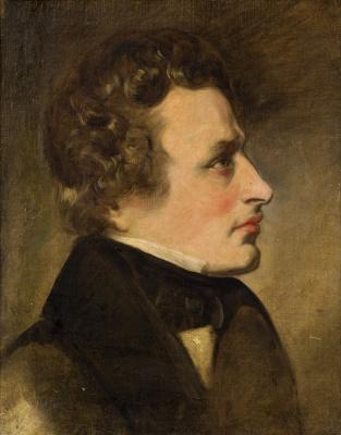 Фридрих фон Амерлинг. Мужской портрет. 1838