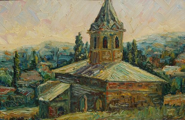 Надежда Георгиевна Шацкая. Армянская церковь. Феодосия